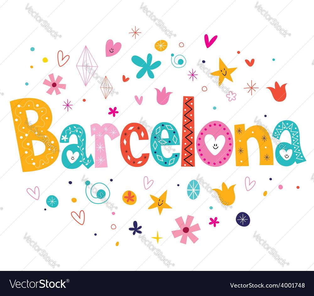 Barcelona vector | Price: 1 Credit (USD $1)