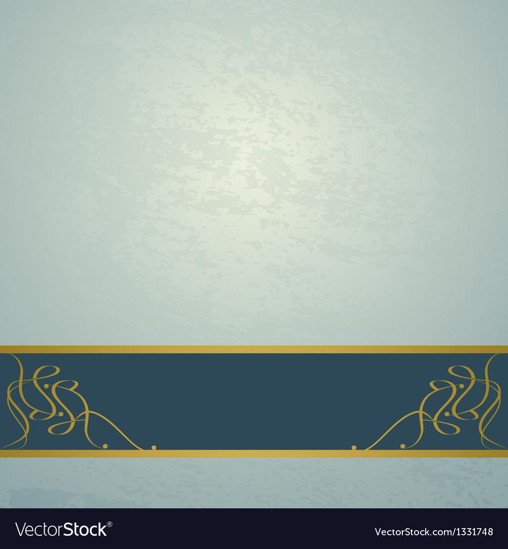 Blue vintage background vector | Price: 1 Credit (USD $1)