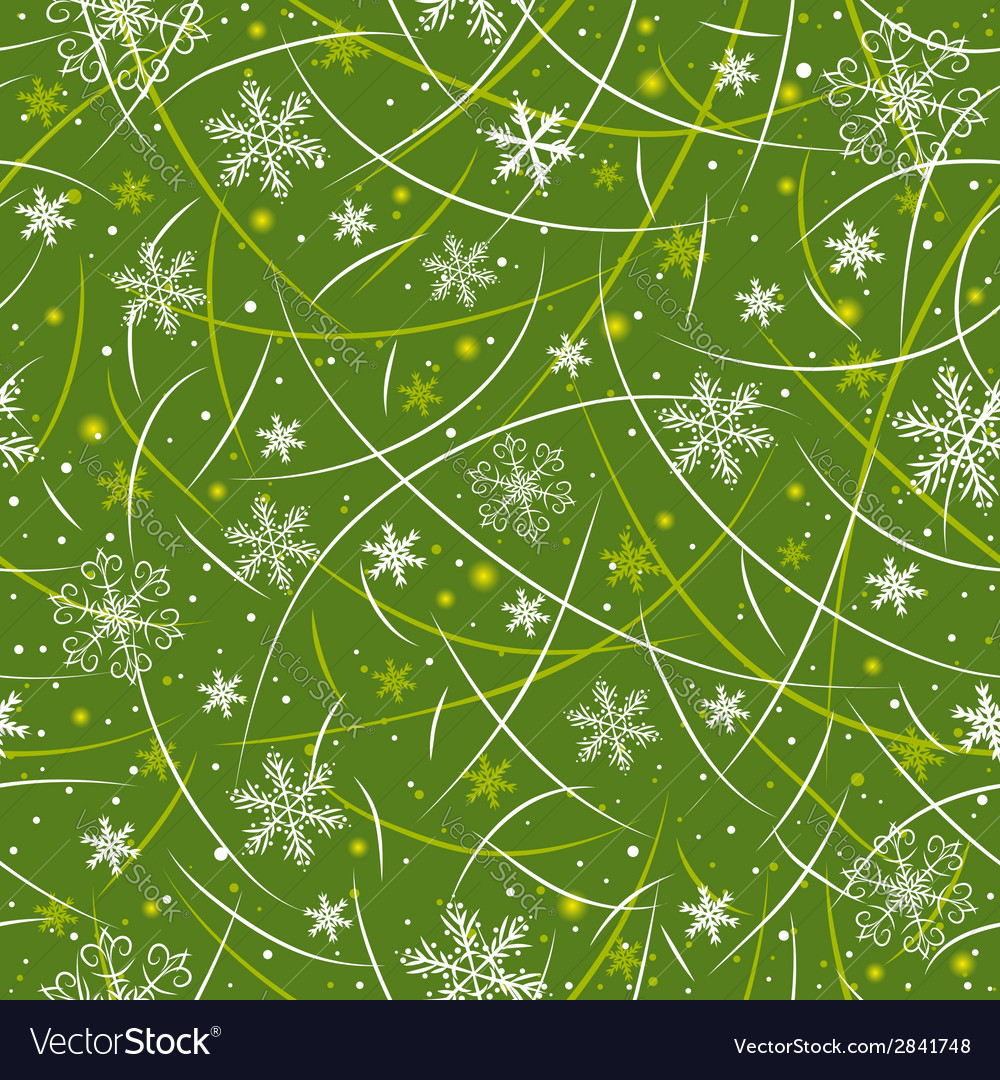 Green wrapping christmas paper vector | Price: 1 Credit (USD $1)