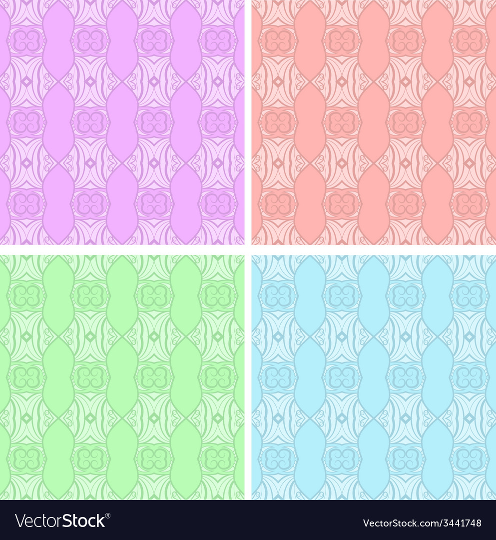 Patterns set vector | Price: 1 Credit (USD $1)