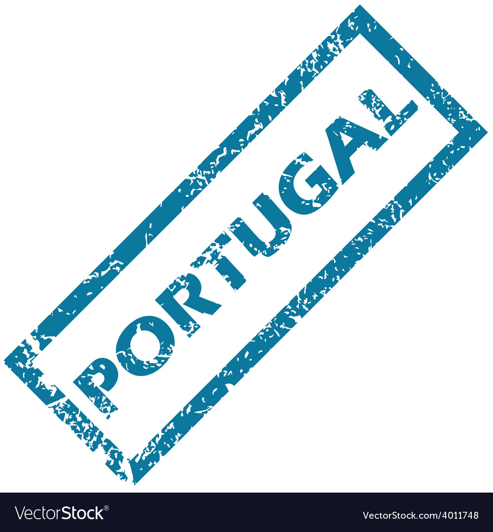 Portugal rubber stamp vector | Price: 1 Credit (USD $1)