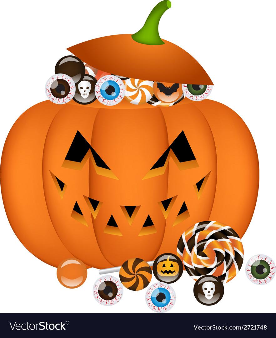 Pumpkin busket vector | Price: 1 Credit (USD $1)