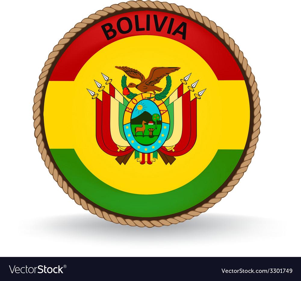 Bolivia seal vector   Price: 1 Credit (USD $1)