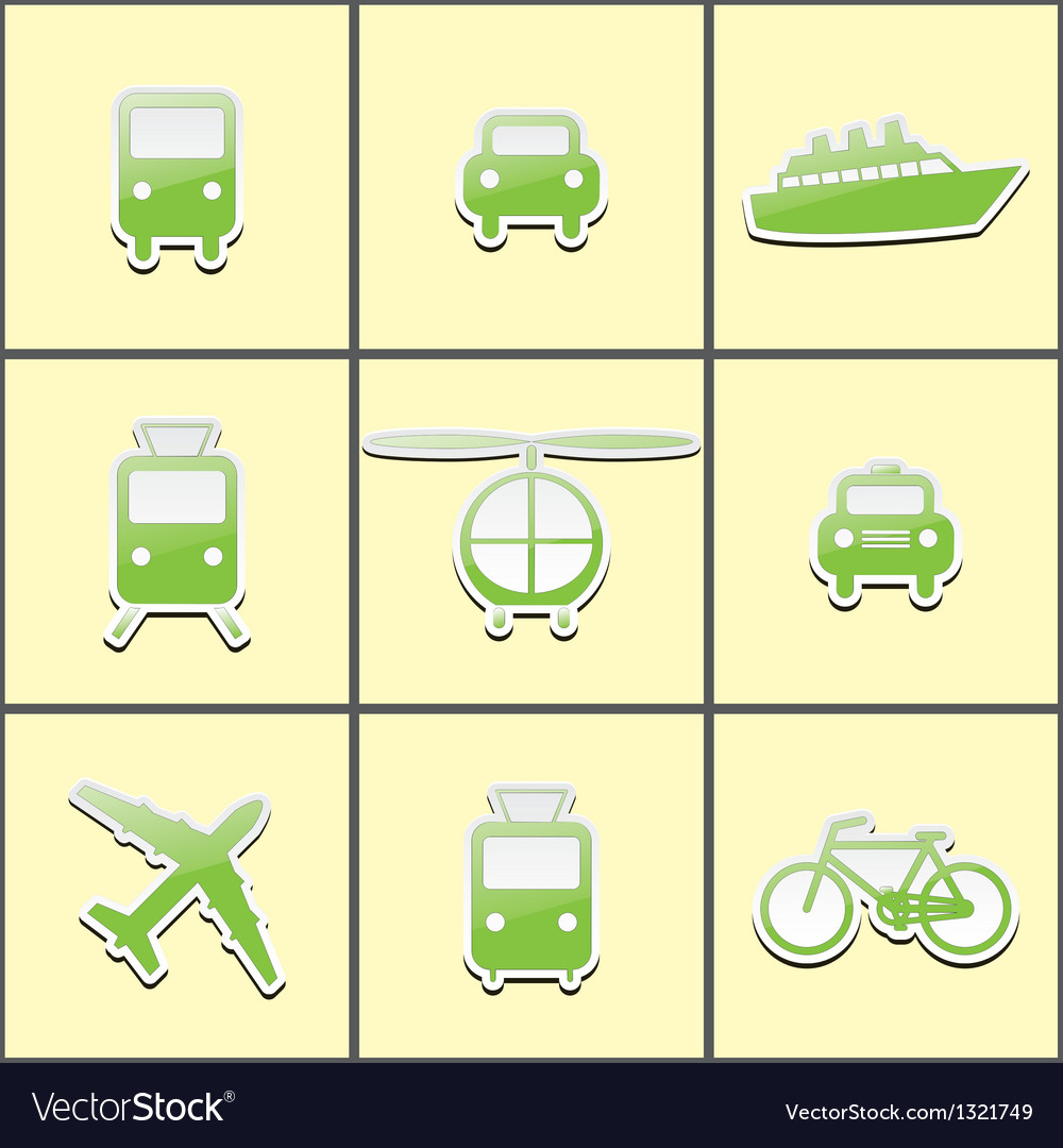 Public transport vector | Price: 1 Credit (USD $1)