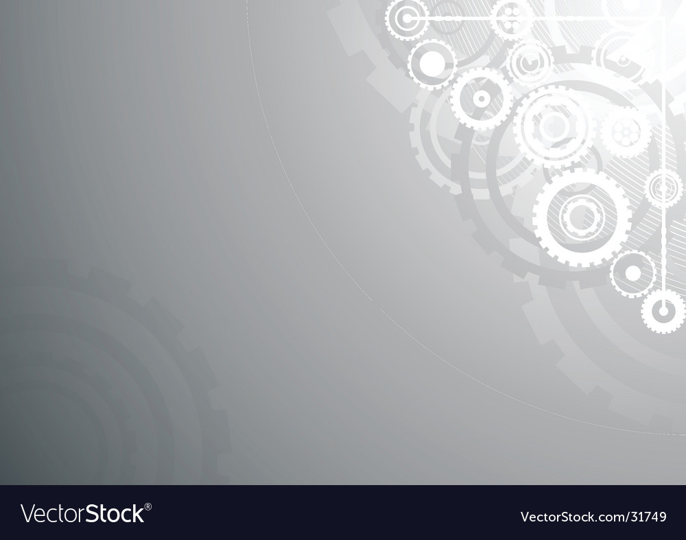 Silver technological background vector | Price: 1 Credit (USD $1)