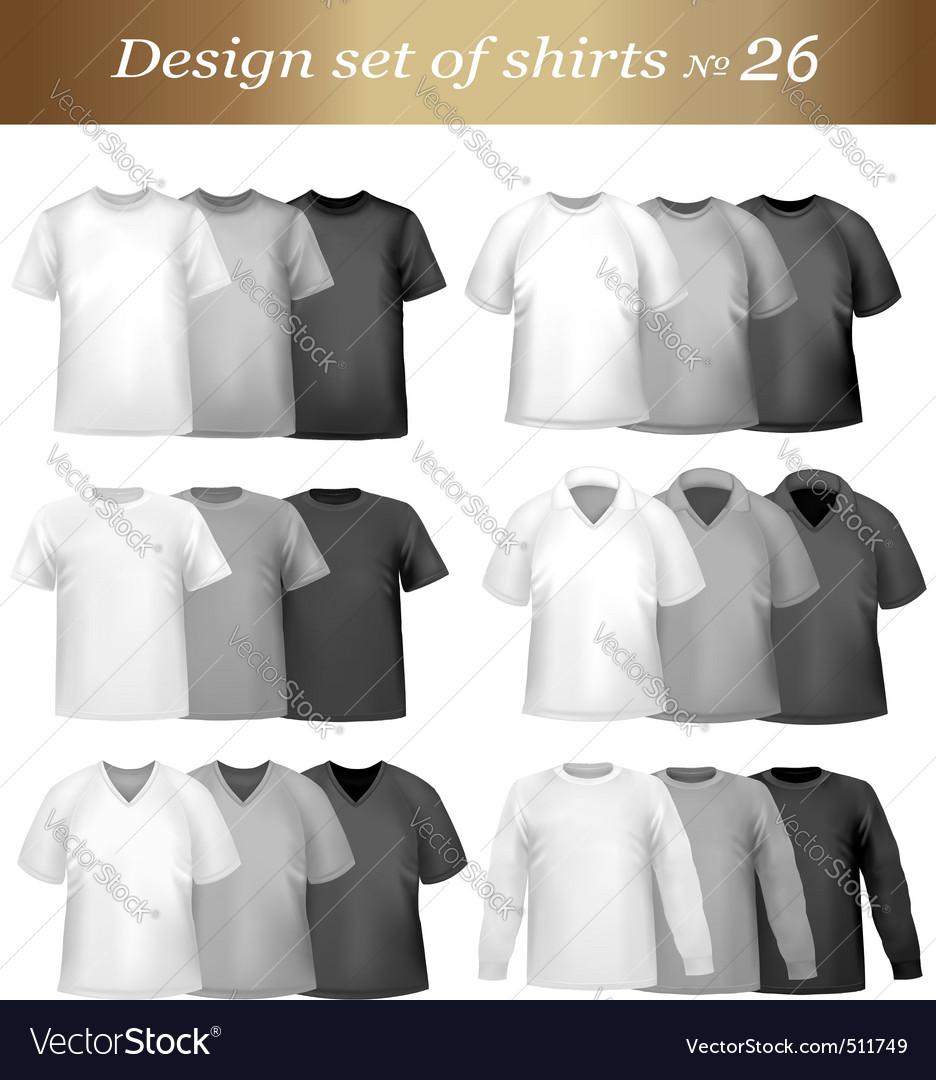 Tshirt templates vector   Price: 1 Credit (USD $1)
