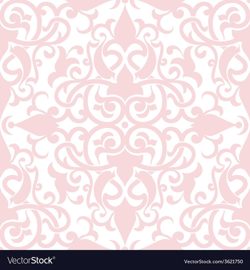 Damask seamless pattern element elegant luxury vector | Price: 1 Credit (USD $1)