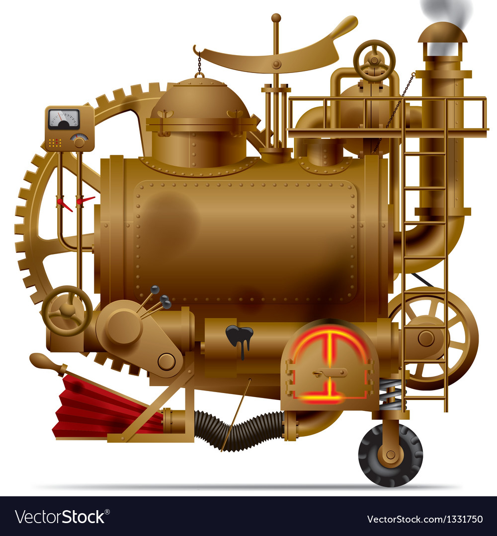 Fantastic machine vector | Price: 1 Credit (USD $1)