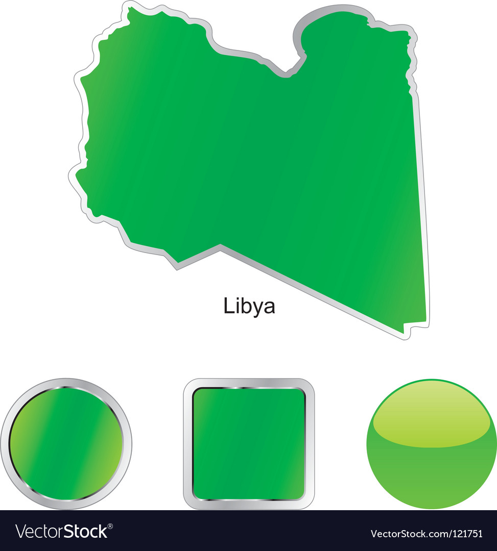 Libya vector | Price: 1 Credit (USD $1)