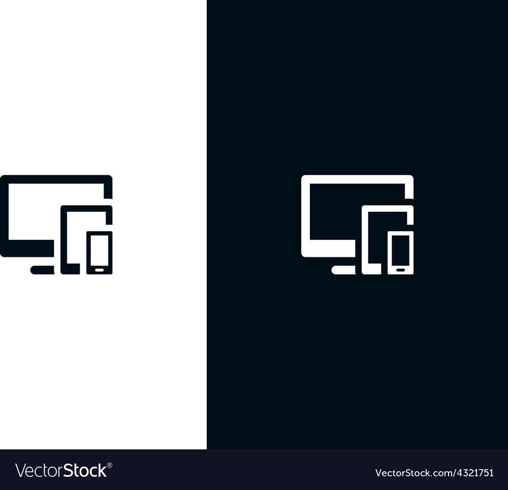 Responsive symbol vector