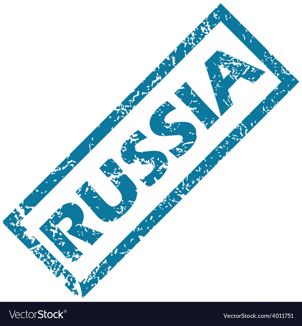 Russia rubber stamp vector | Price: 1 Credit (USD $1)