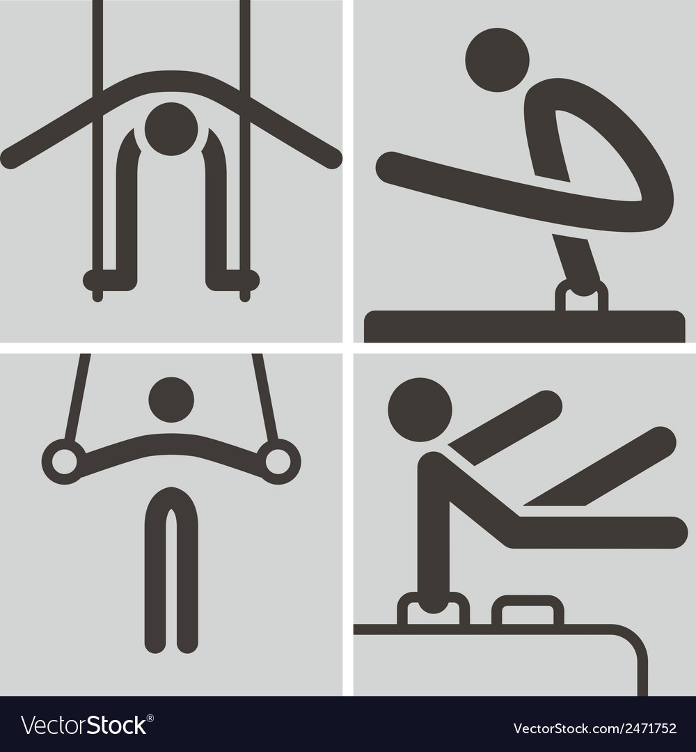 Gymnastics artistic vector | Price: 1 Credit (USD $1)