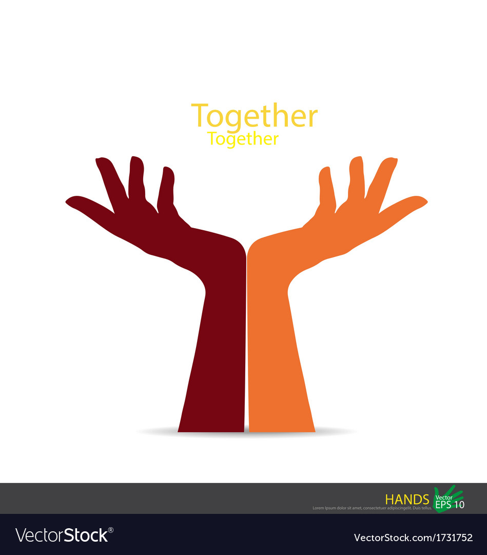 Hand holding eps10 vector | Price: 1 Credit (USD $1)