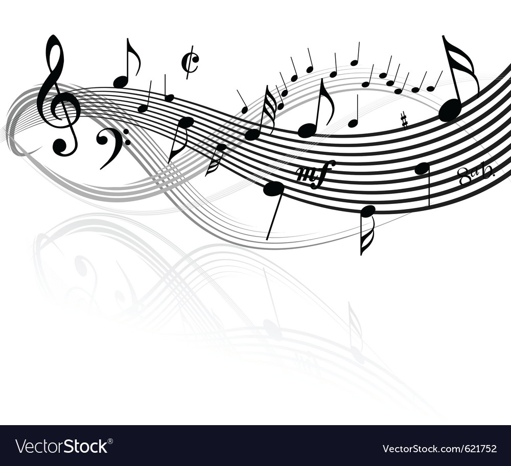 Music border vector | Price: 1 Credit (USD $1)