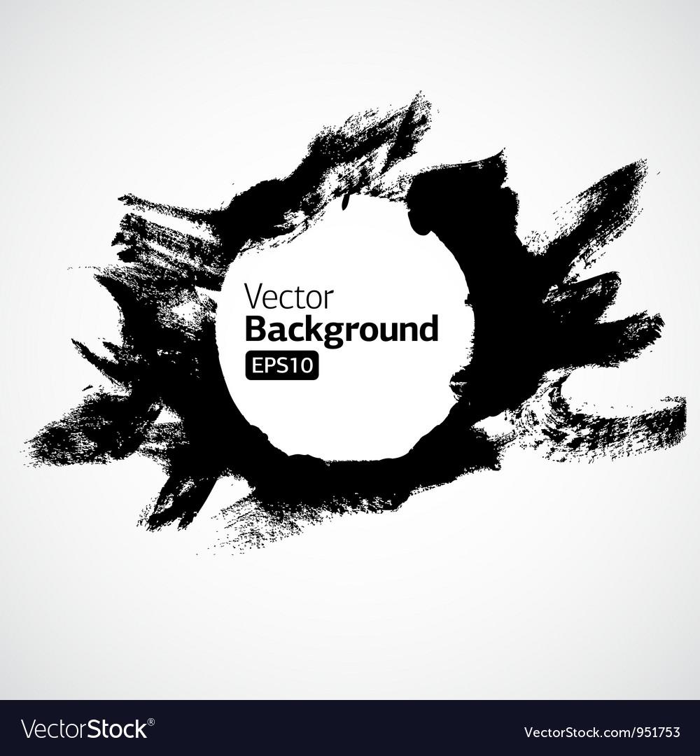 Brush circle texture vector | Price: 1 Credit (USD $1)