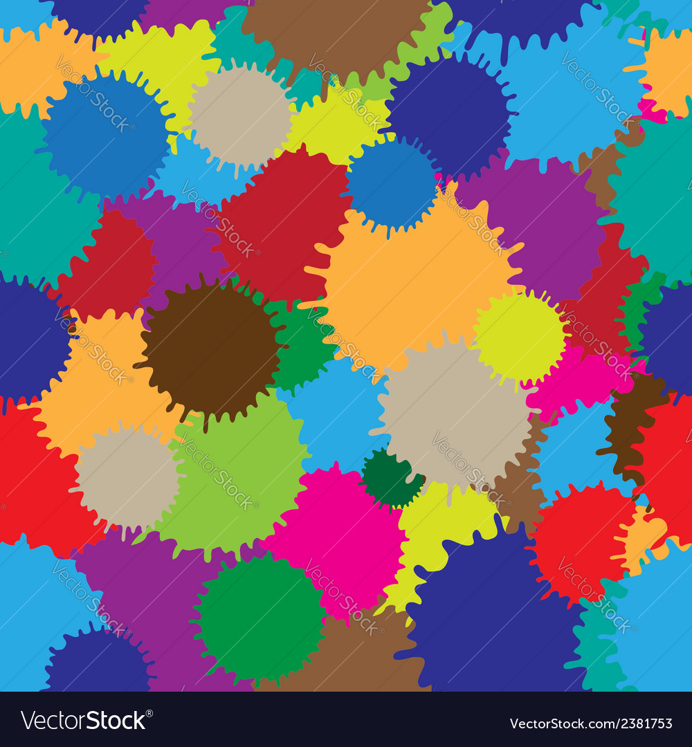 Colorful blots vector | Price: 1 Credit (USD $1)