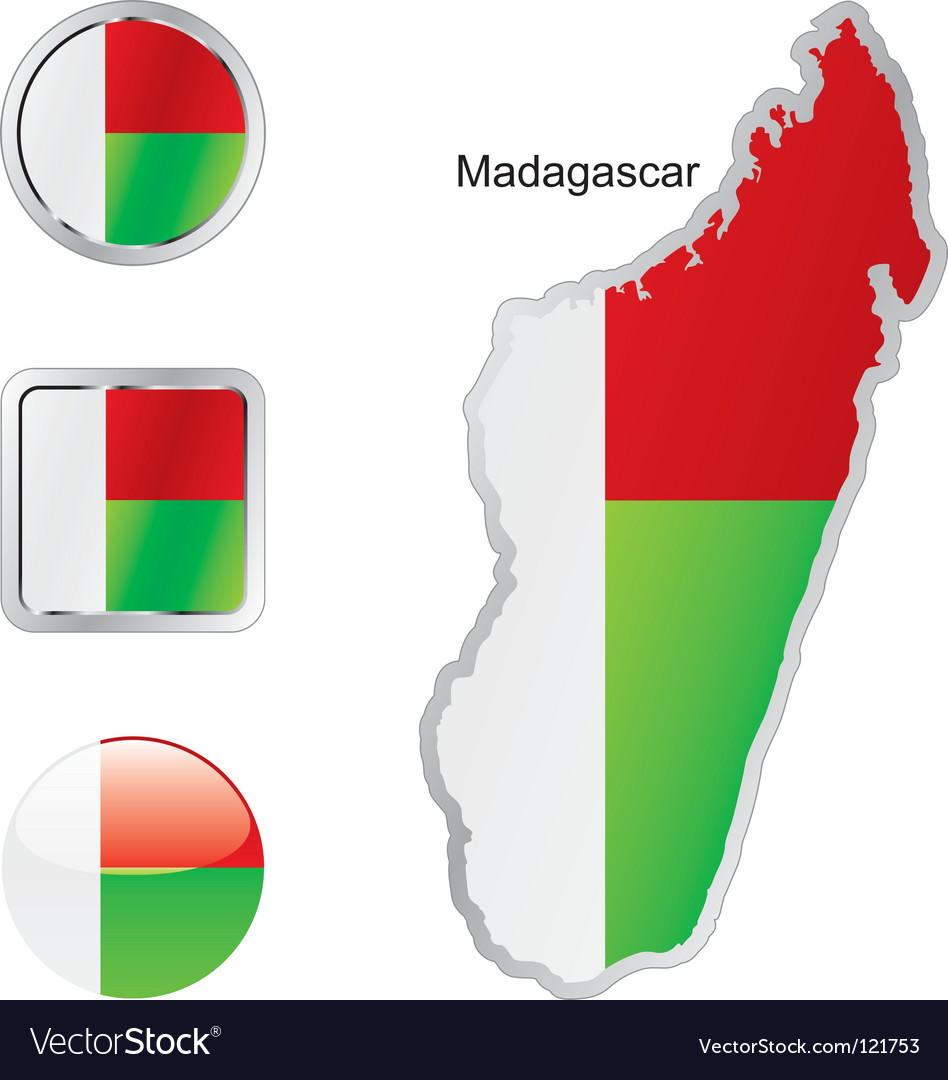 Madagascar vector | Price: 1 Credit (USD $1)
