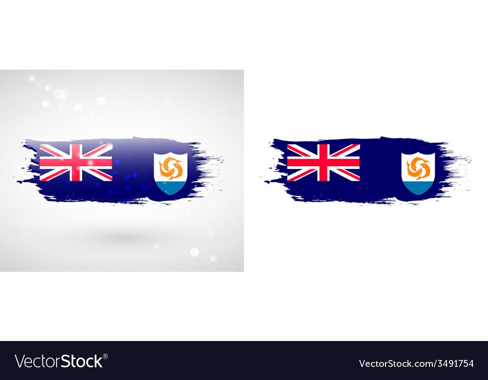 Anguilla flag vector | Price: 1 Credit (USD $1)