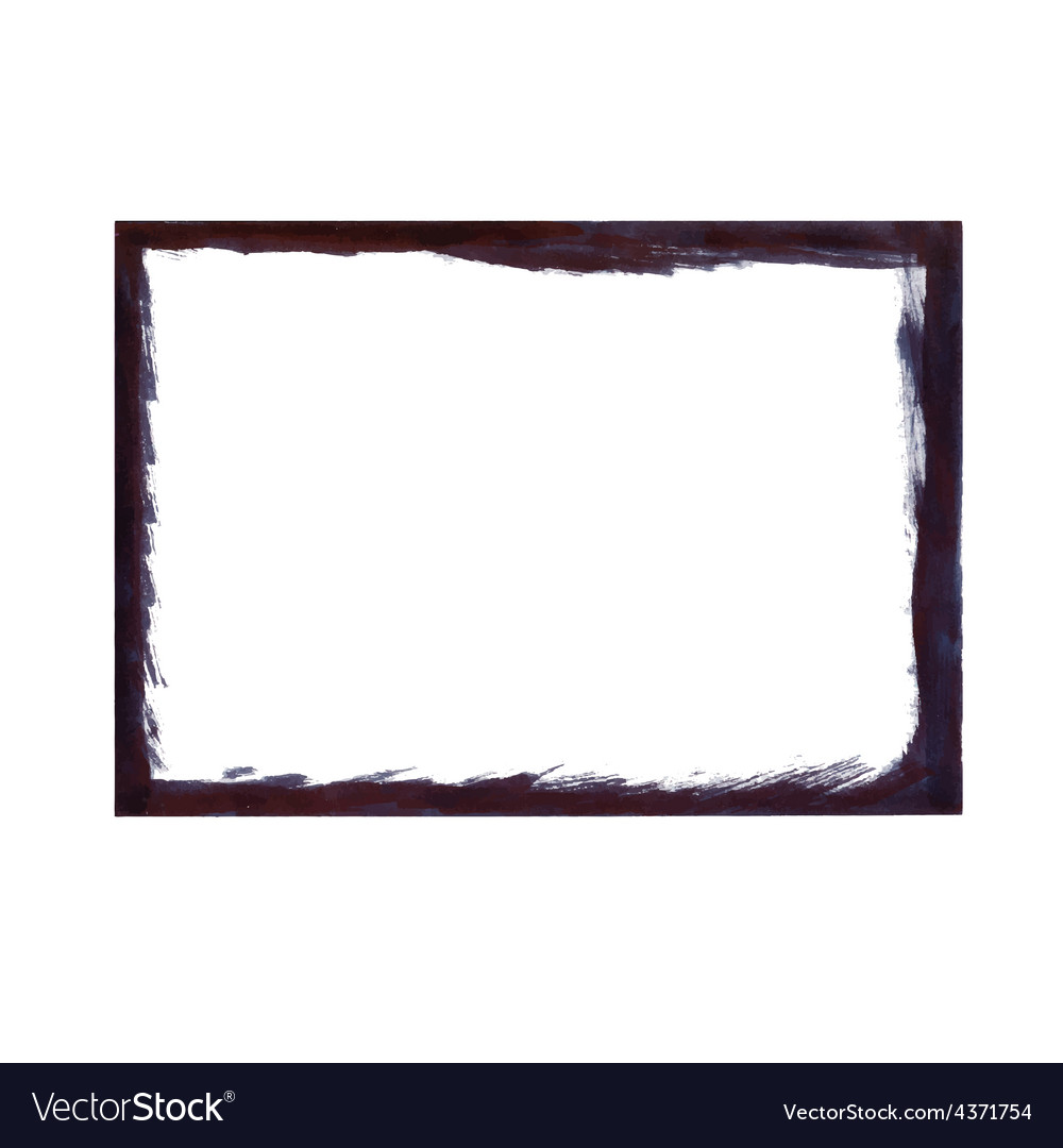 Black grunge frame vector | Price: 1 Credit (USD $1)
