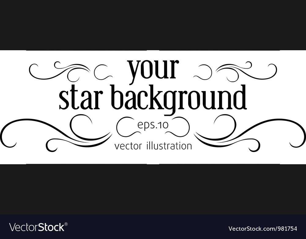 Blue stylish background vector