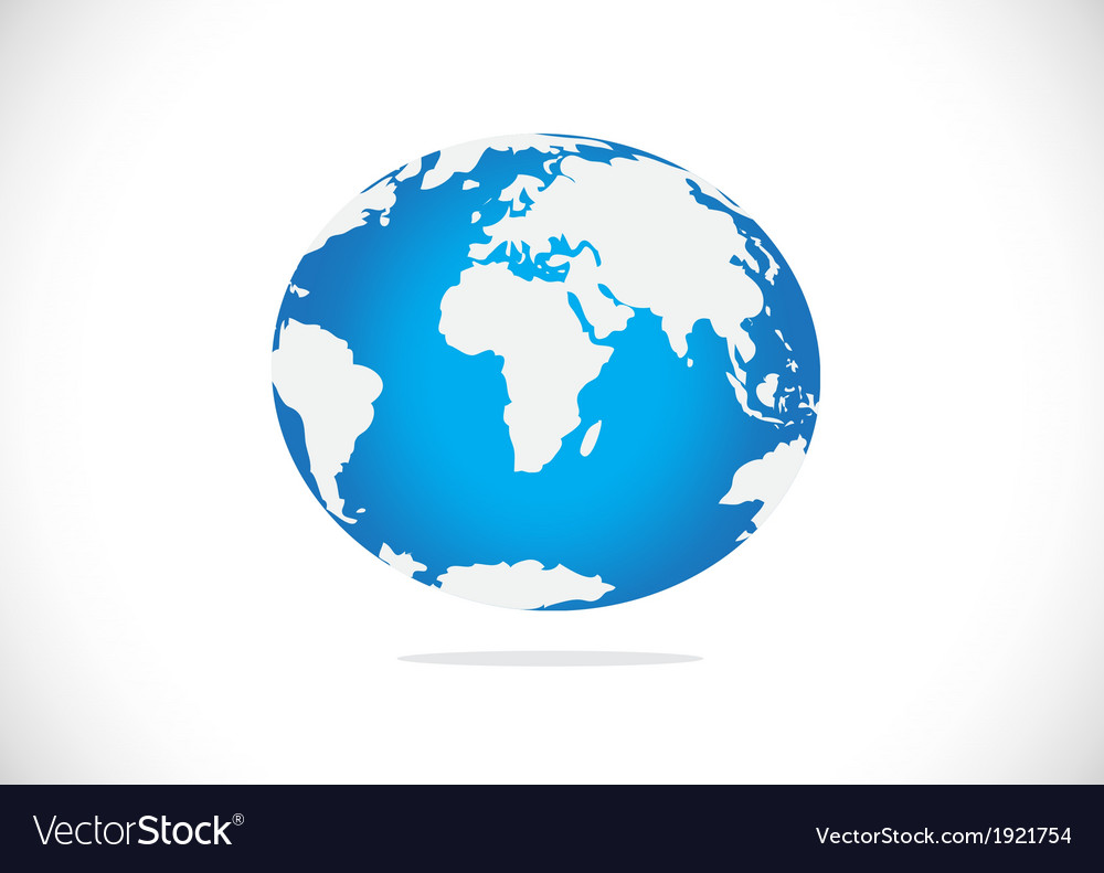 Globe earth icons themes idea design vector | Price: 1 Credit (USD $1)