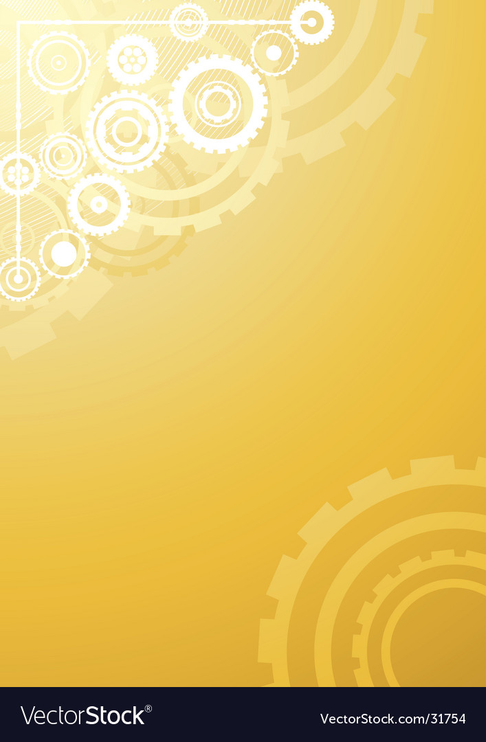 Gold technological background vector | Price: 1 Credit (USD $1)