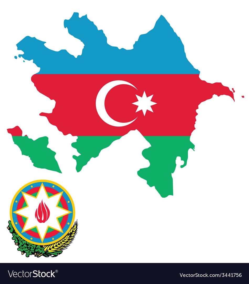 Azerbaijan flag vector   Price: 1 Credit (USD $1)