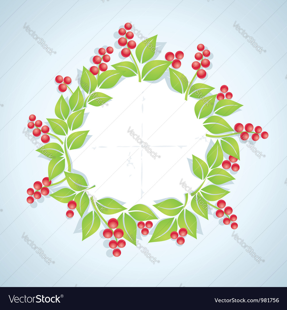 Berry plant vector | Price: 1 Credit (USD $1)
