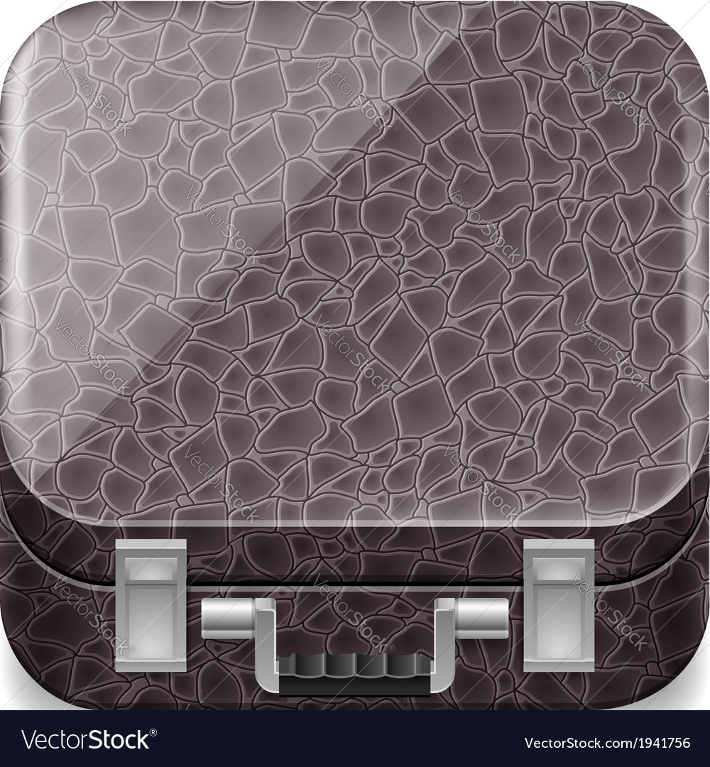 Leather suitcase vector | Price: 1 Credit (USD $1)