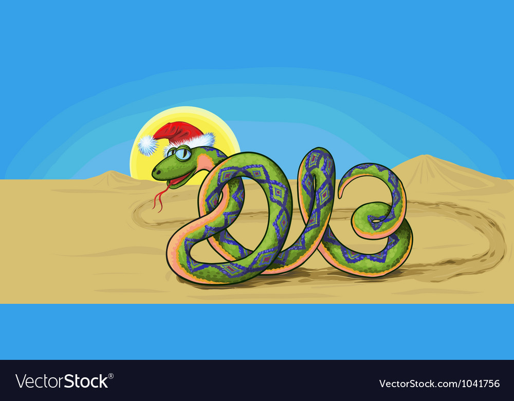 Snake symbol 2013 vector | Price: 1 Credit (USD $1)