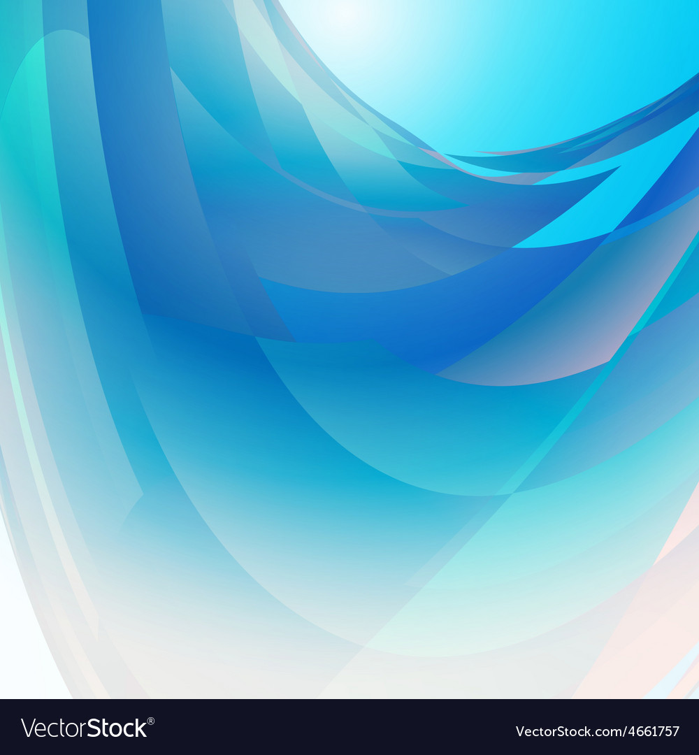 Abstract blue background square vector | Price: 1 Credit (USD $1)