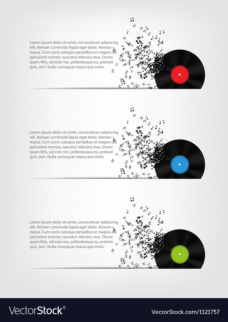 Abstract music background for your design vector   Price: 1 Credit (USD $1)
