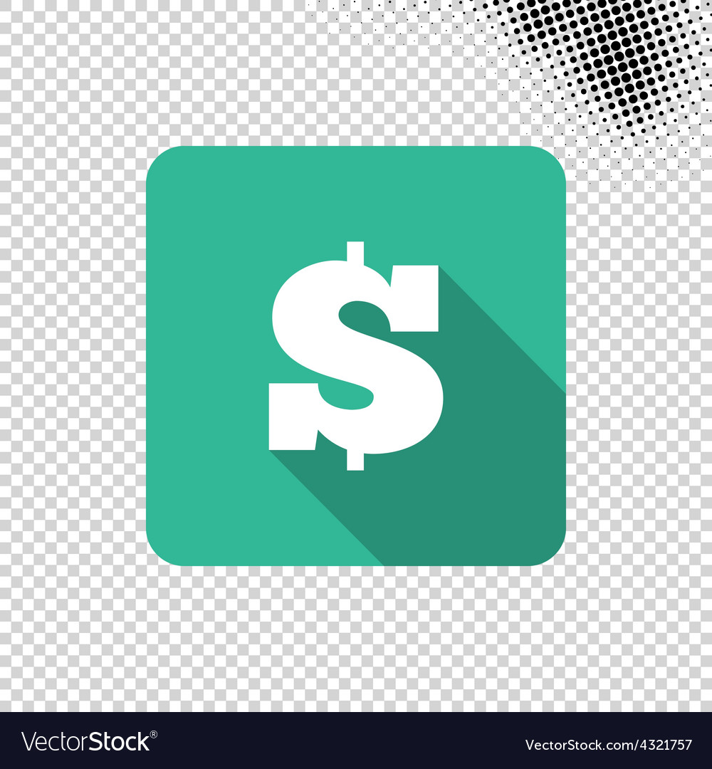 Dollar money icon vector | Price: 1 Credit (USD $1)