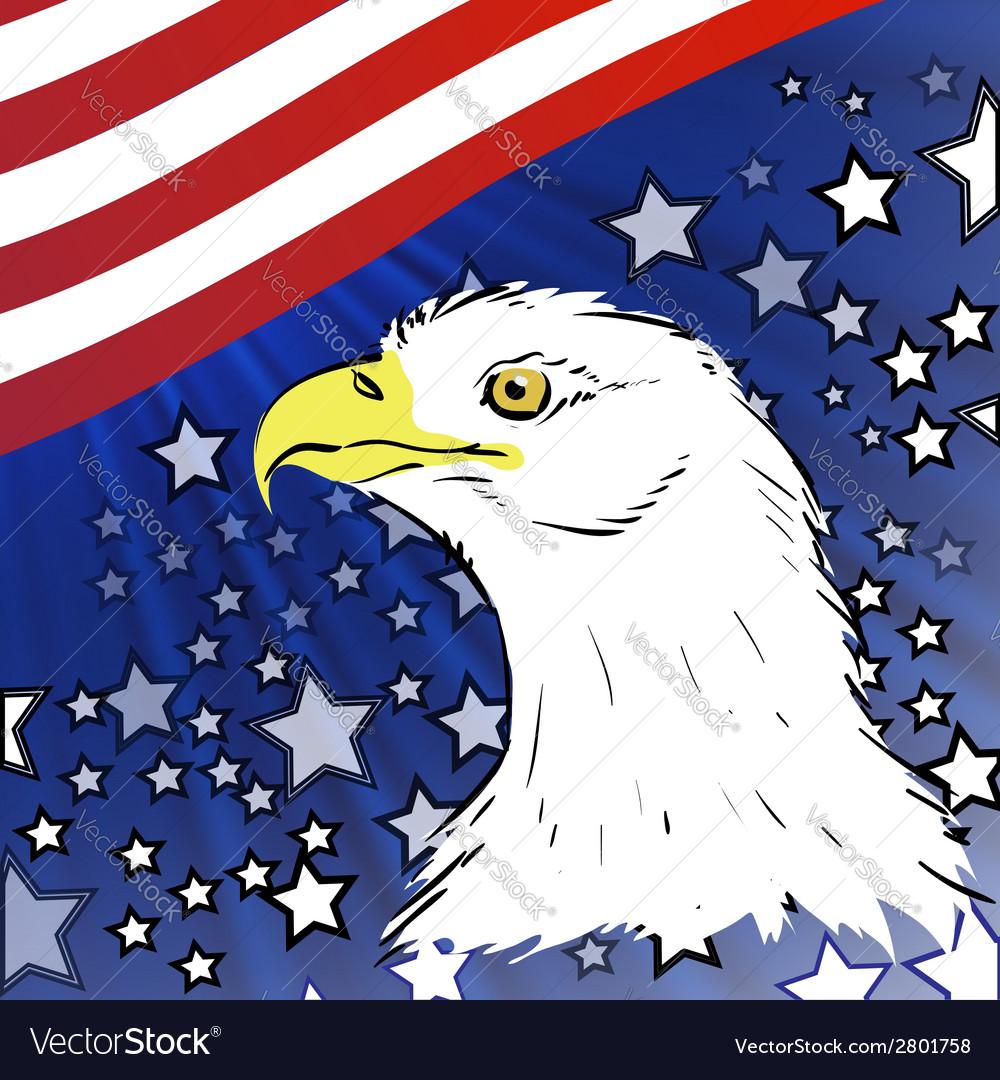 American eagle vector | Price: 1 Credit (USD $1)