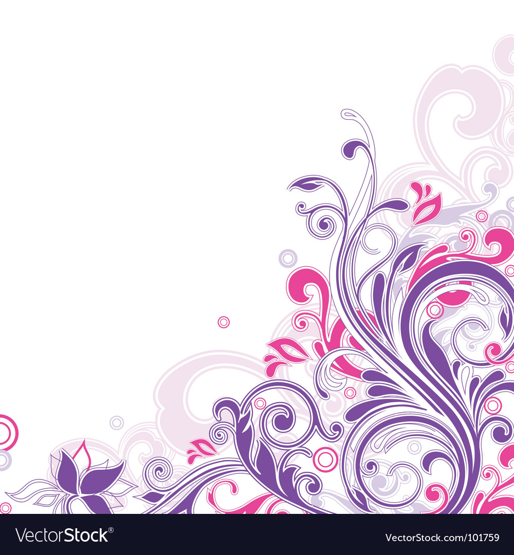 Floral vector | Price: 1 Credit (USD $1)