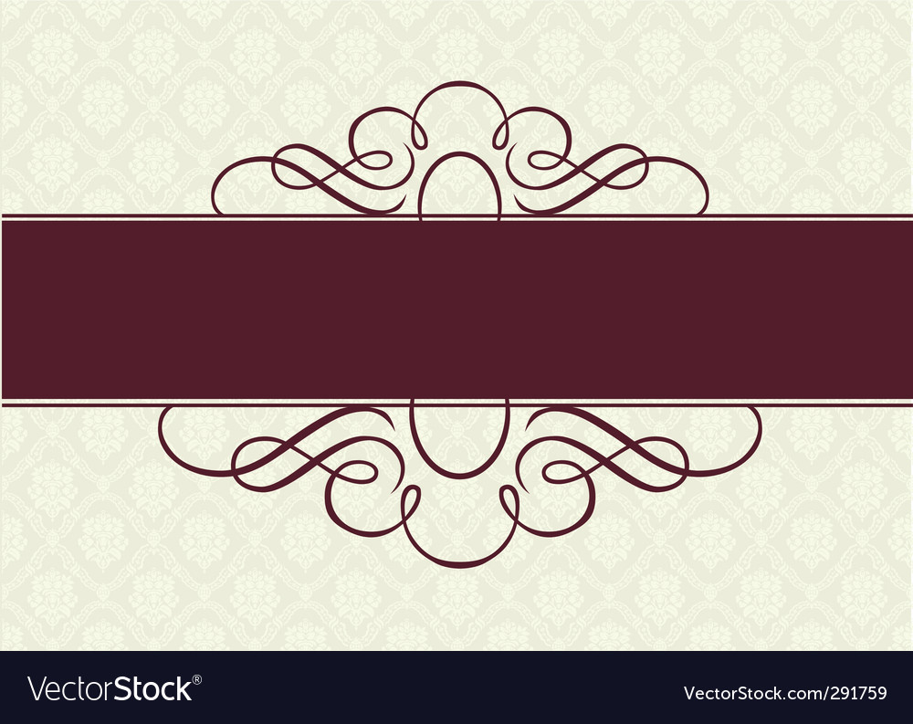 Swirl ornament vector | Price: 1 Credit (USD $1)