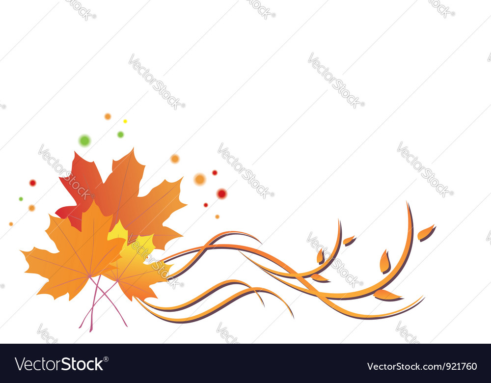 Autumn flora vector   Price: 1 Credit (USD $1)