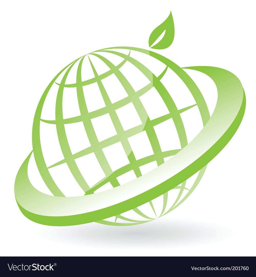 Eco globe vector   Price: 1 Credit (USD $1)