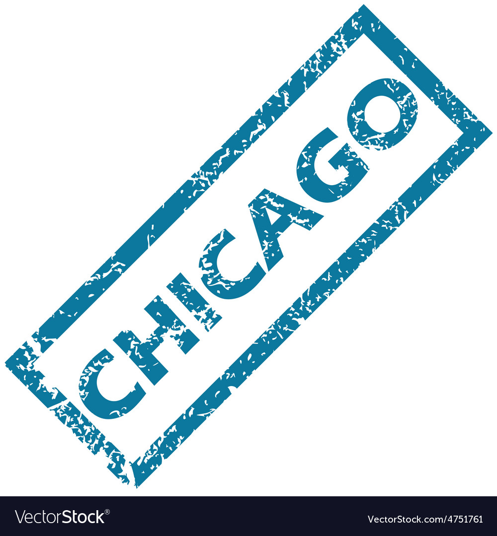 Chicago rubber stamp vector | Price: 1 Credit (USD $1)