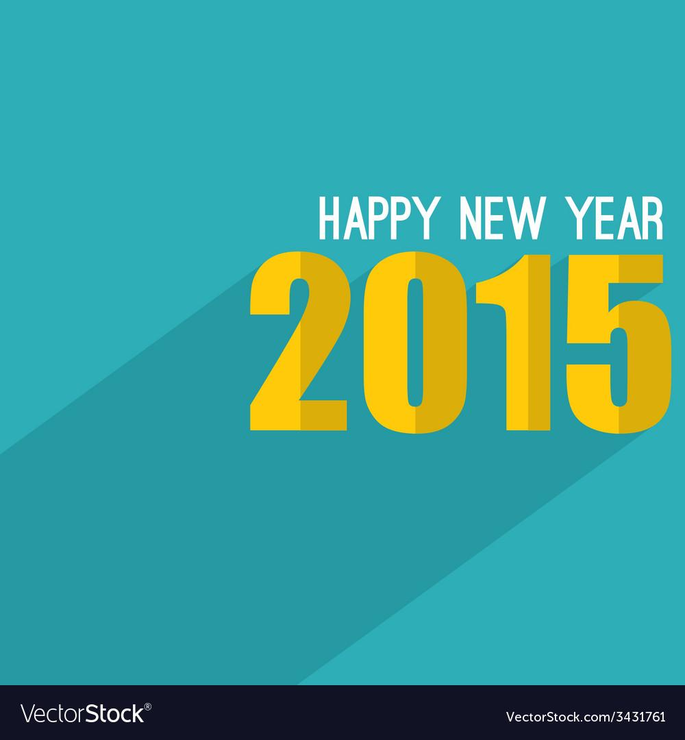 Creative happy new year vector | Price: 1 Credit (USD $1)