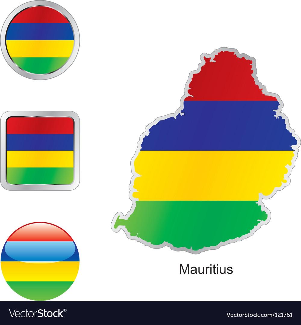Mauritius vector | Price: 1 Credit (USD $1)