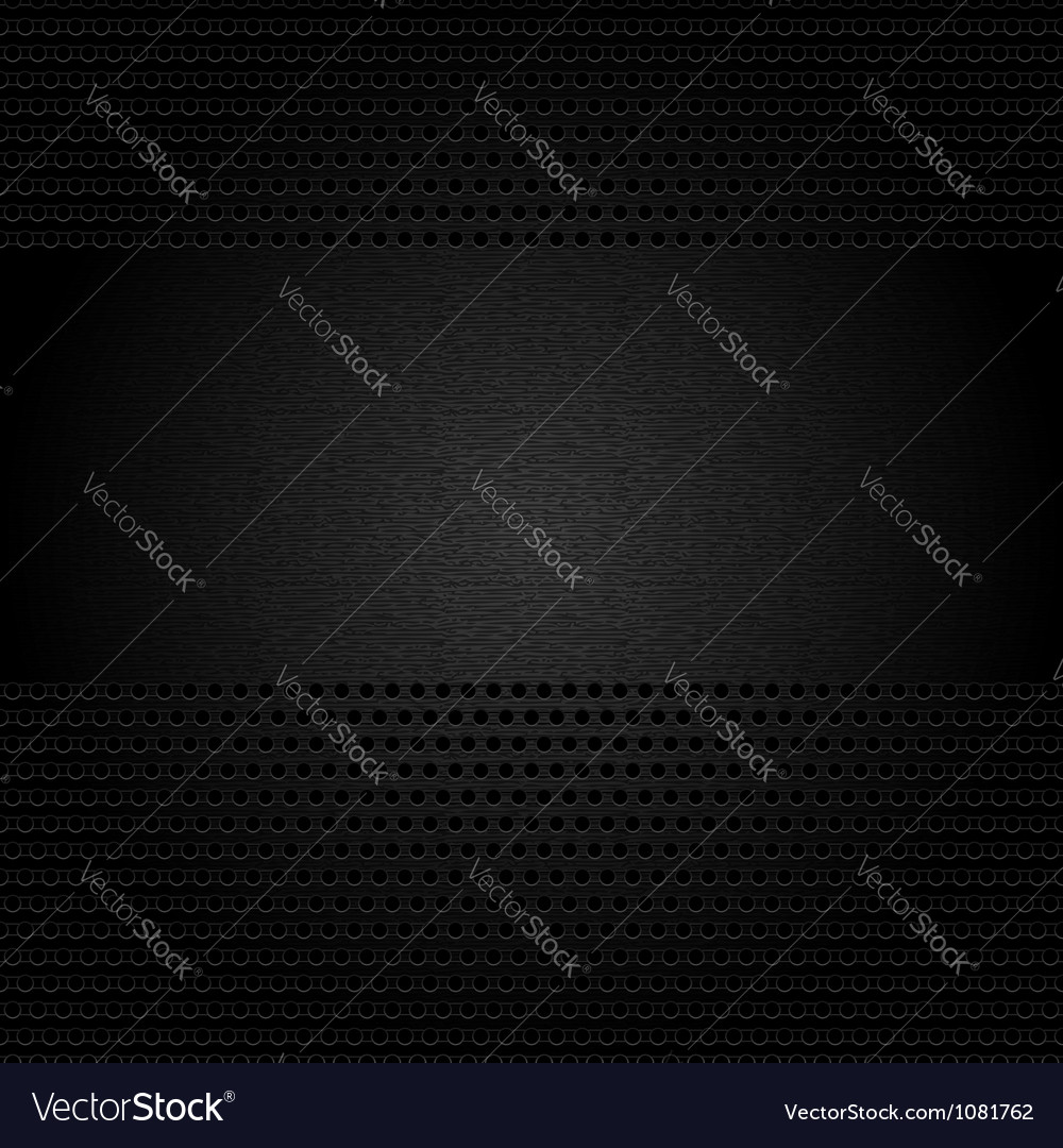 Dark gray background perforated sheet vector | Price: 1 Credit (USD $1)