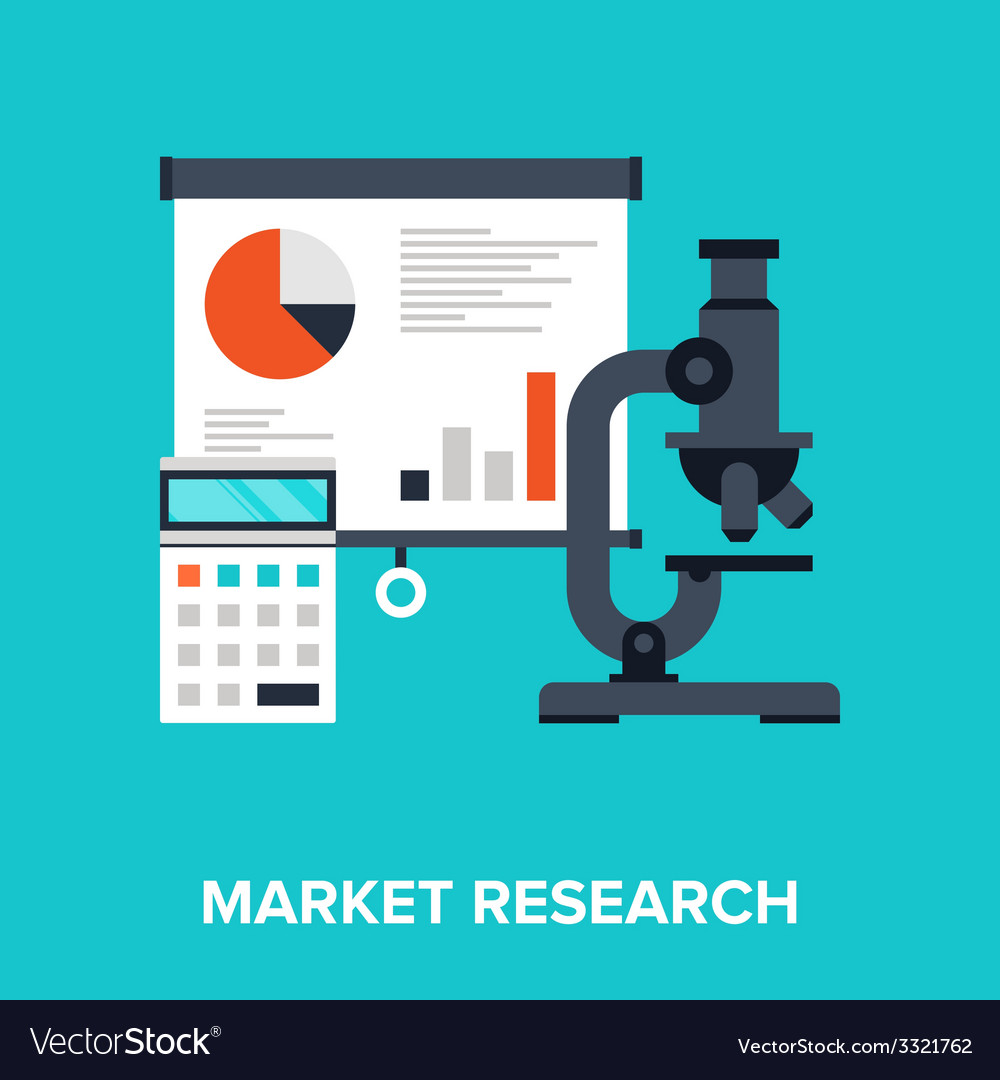 Market research vector | Price: 1 Credit (USD $1)