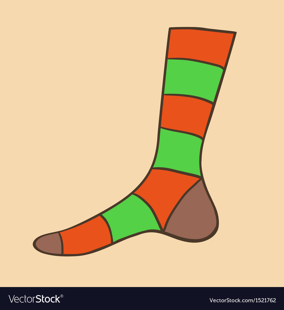 Sock vector | Price: 1 Credit (USD $1)