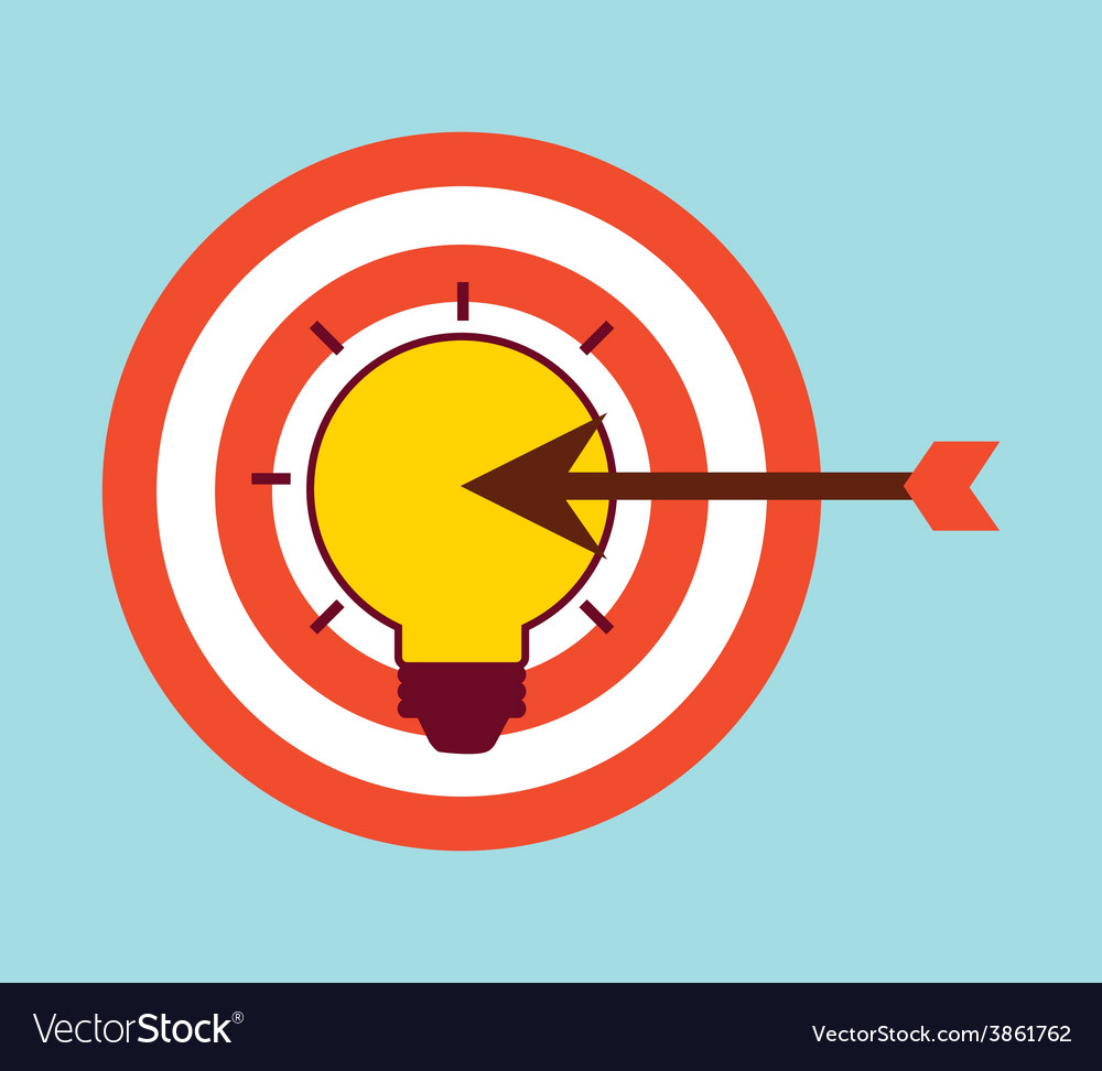 Target arrow vector | Price: 1 Credit (USD $1)