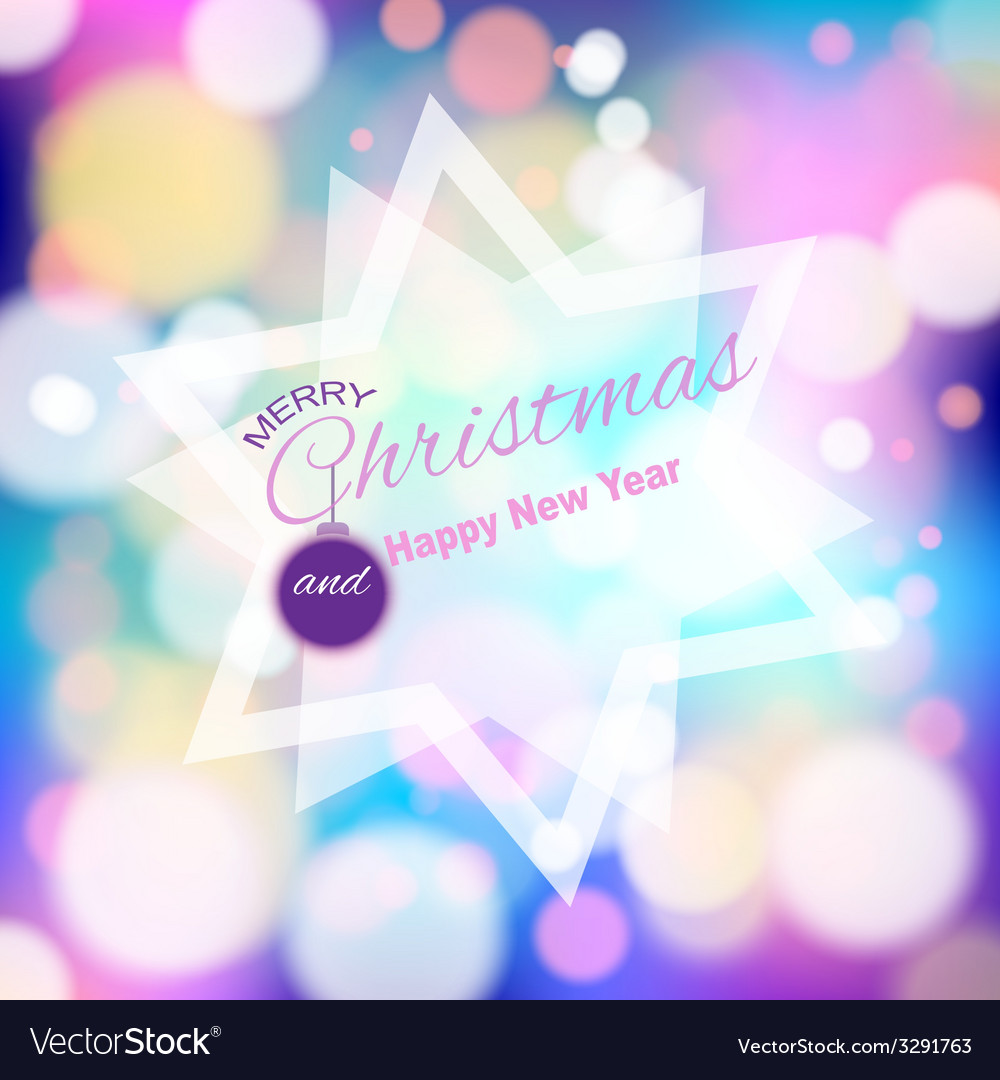 Magical background with colorful bokeh vector | Price: 1 Credit (USD $1)
