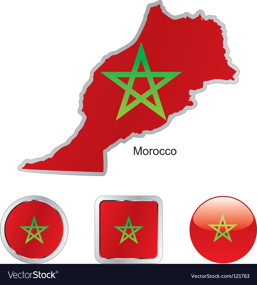 Morocco vector | Price: 1 Credit (USD $1)