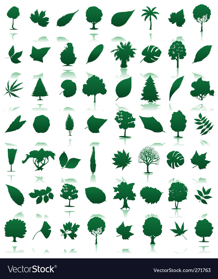 Trees icon vector | Price: 1 Credit (USD $1)