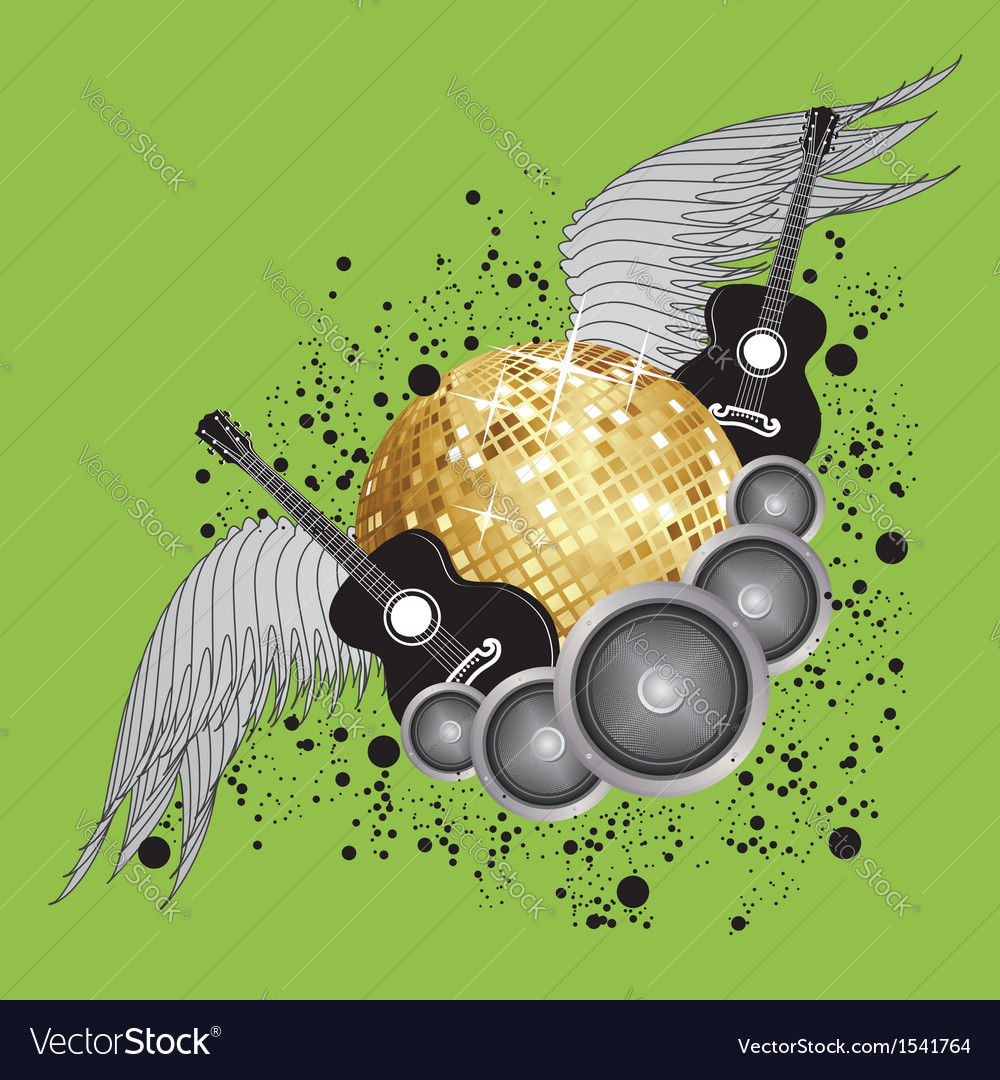 Abstract party design vector | Price: 1 Credit (USD $1)