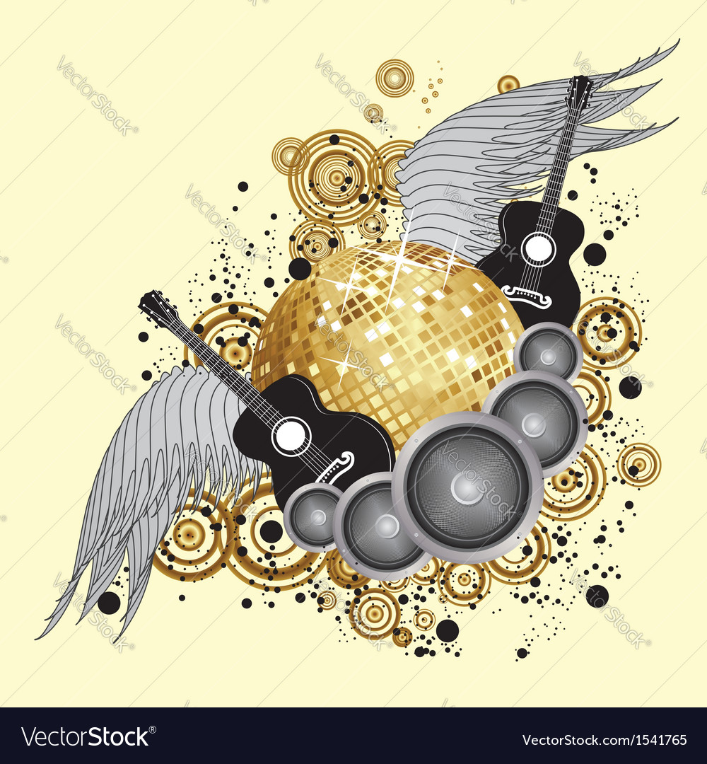 Abstract party design2 vector | Price: 1 Credit (USD $1)